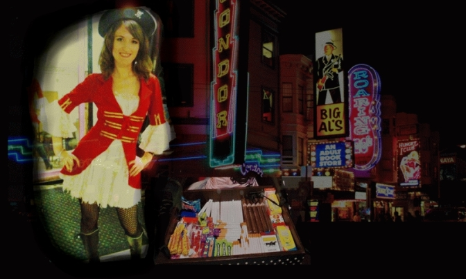 My Strangest Job: I Was as a Pirate Cigarette Girl